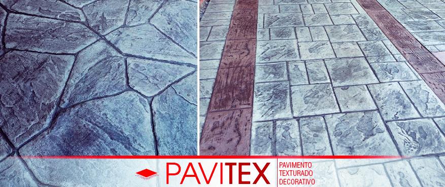 Pavimento Texturado Hormigon Estampado Pavitex